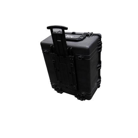 Peli 1690 Hard Protection Black Case With 4 Strong Polyurethane Wheels And Foam Thumbnail 3