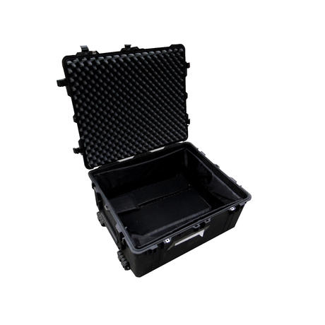 Peli 1690 Hard Protection Black Case With 4 Strong Polyurethane Wheels And Foam Thumbnail 4