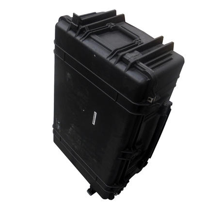 Peli 1650 Hard Protection Black Case With 4 Strong Polyurethane Wheels And Foam Thumbnail 2