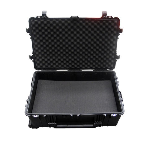 Peli 1650 Hard Protection Black Case With 4 Strong Polyurethane Wheels And Foam Thumbnail 3