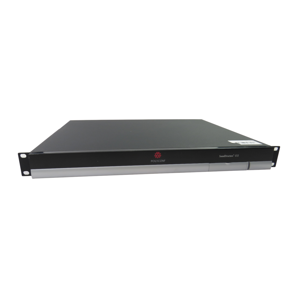 Polycom SoundStructure C12 C-Series Audio Conference System w/ Card