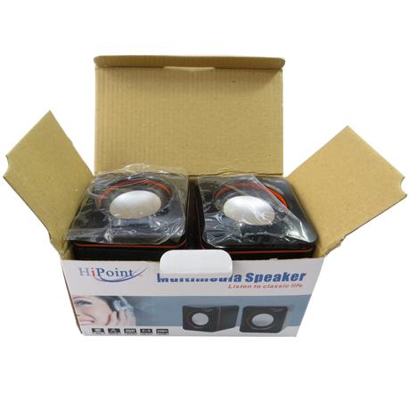 HiPoint SPH-CUB600 Multimedia Speakers 3.5mm USB 2.0 Thumbnail 2