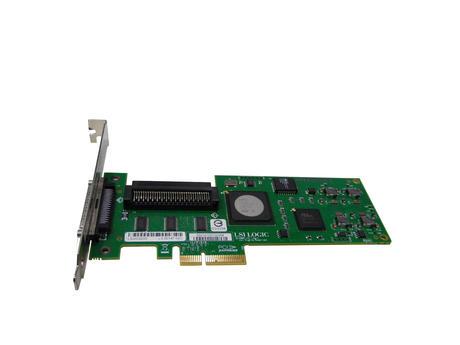 HP NU947 Ultra320 Single Channel PCIe Controller W/ Full Height Bracket - D33156