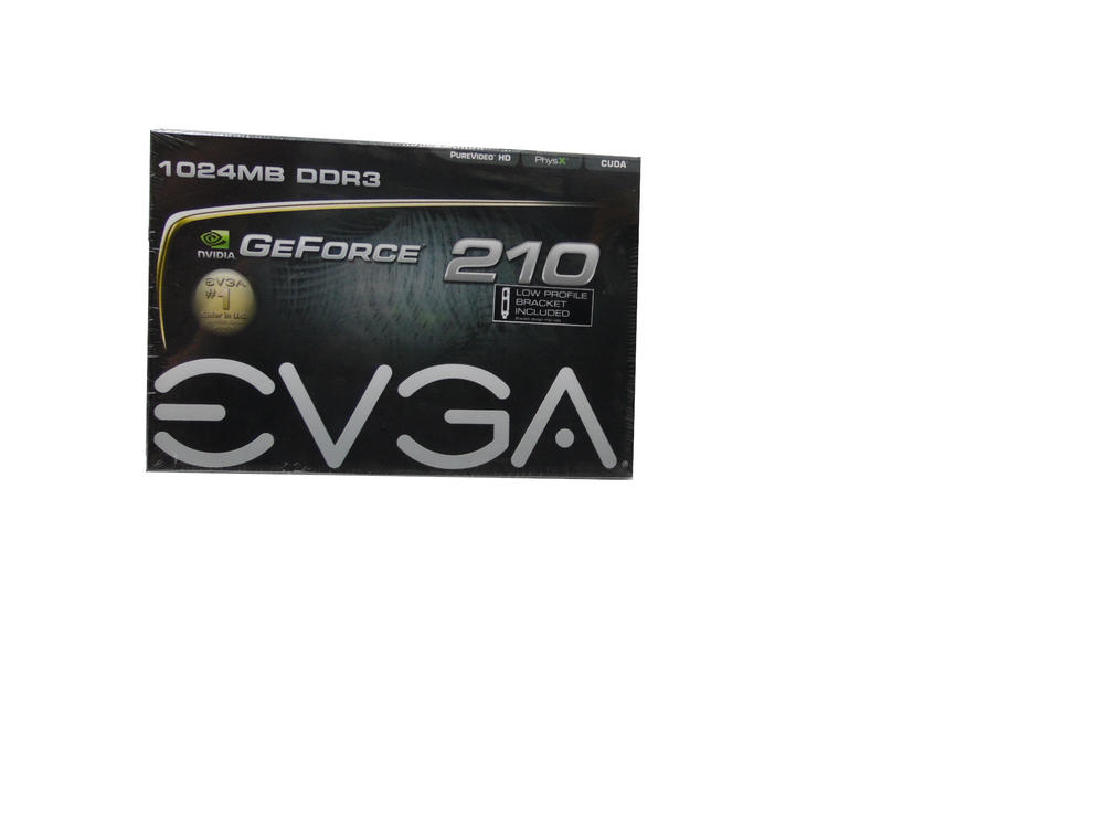 New In Box EVGA Nvidia GeForce 210   1024MB DDR3   PCI Express Graphics Card
