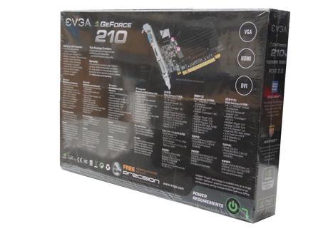 New In Box EVGA Nvidia GeForce 210   1024MB DDR3   PCI Express Graphics Card Thumbnail 2