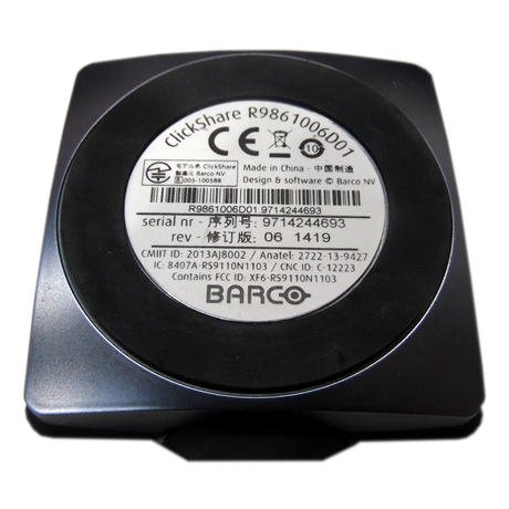 Barco Clickshare Button R9861006D01 For Wireless Presentation Thumbnail 2