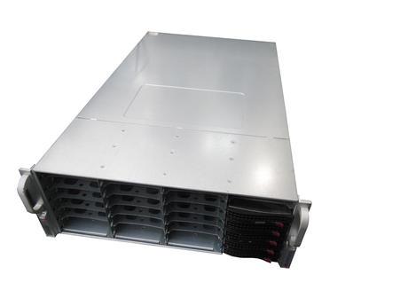 SuperMicro 4U | 45 Bay Hard Drive Array | No HDD | Nobilis JBOD24 | 26x Caddies
