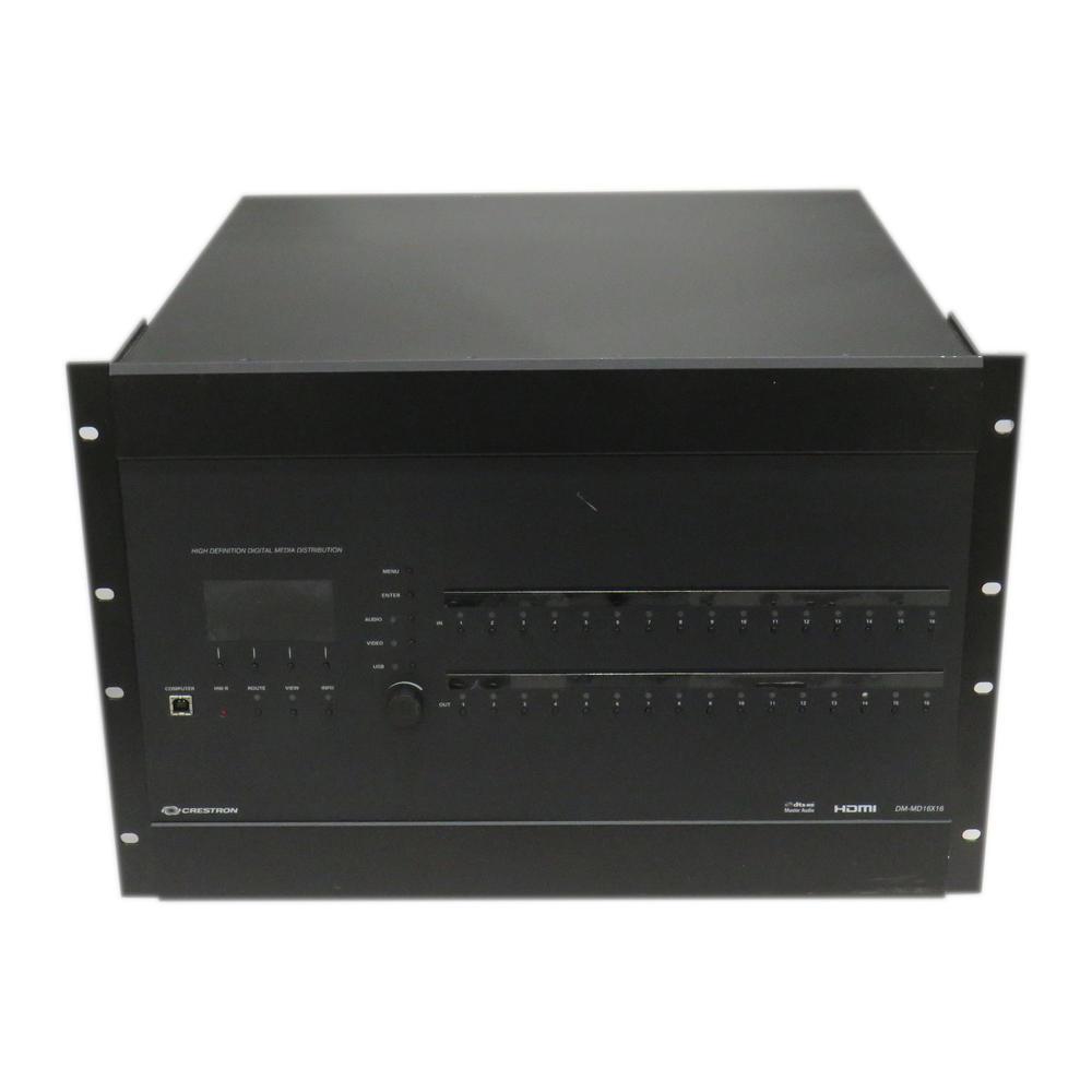 Crestron DM-MD16X16 DigitalMedia Switcher With Modules