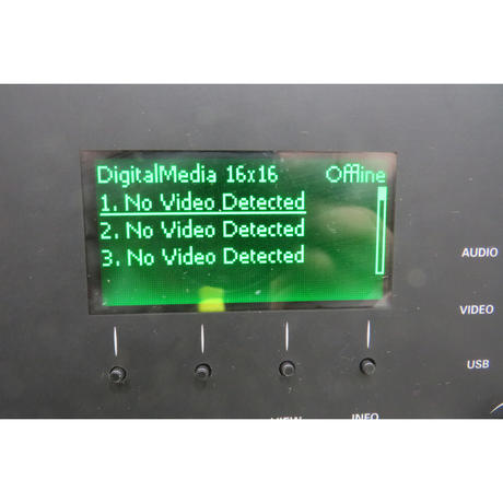 Crestron DM-MD16X16 DigitalMedia Switcher With Modules Thumbnail 3