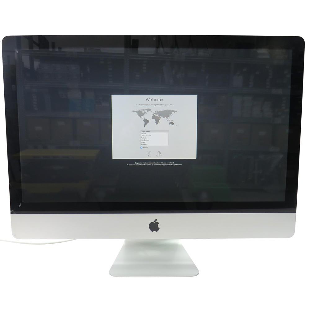 "Apple A1115 IMac 24"" Mid-2007 2.80GHz | 4GB RAM | 500GB | Cracked Casing"