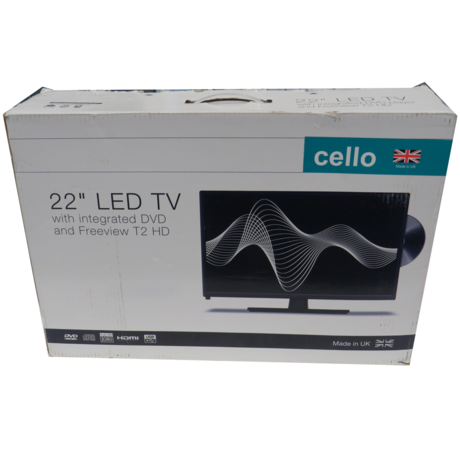 """Cello 22"""" C22230FT2 V4 LED TV 