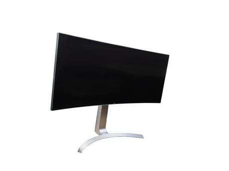 """LG 34UC99-W 34"""" IPS Curved Monitor And Stand   2018   Dead Pixels Thumbnail 5"""