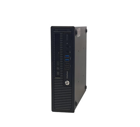 HP EliteDesk 800 G1 USDT | i5-4670s @ 3.10GHz | 8GB RAM | 128GB SSD Thumbnail 1