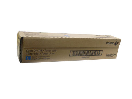 New In Box Genuine XEROX 006R01471 Cyan Toner