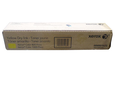 New In Box Genuine XEROX 006R01473 Yellow Toner