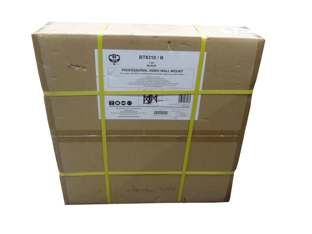BT8310/B | New In Box | Professional Video Wall Mount | B-Tech
