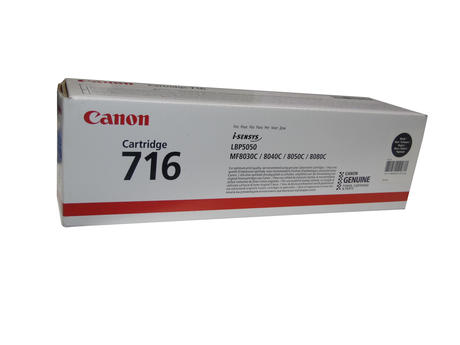 Canon 1980B002[AA] New In Box Black Cartridge | 716 i-sensys