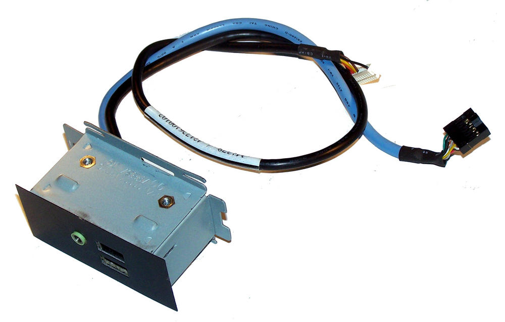 Dell C0094 Dimension 2400 Front USB and Audio Port Assembly with Cables | 0C0094