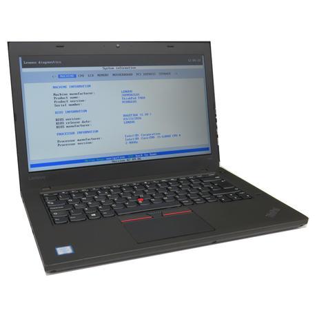 """Lenovo T460 14"""" Laptop Intel i5-6300U @ 2.4GHz 8GB 500GB B-"""
