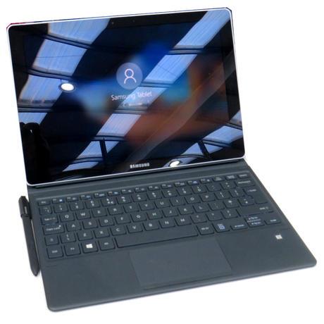 """Samsung Galaxy Book SM-W720 12"""" Tablet Intel i5-7200U @ 2.50GHz 8GB 256GB A-"""