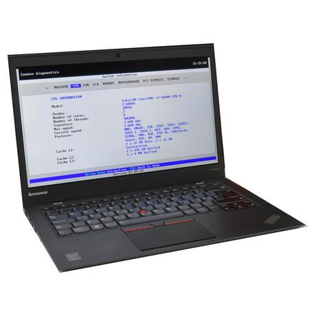 Lenovo X1 Carbon Gen 3  Laptop  i7-5600U @ 2.60GHz 8GB 256GB  Grade B-