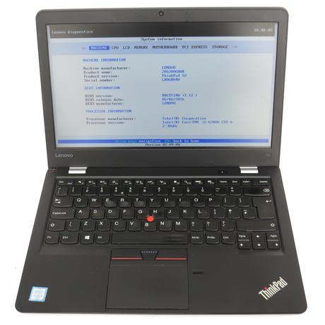 Lenovo Thinkpad 13 i5-6200U @ 2.30GHz 8GB 256GB  No Operating System  C+