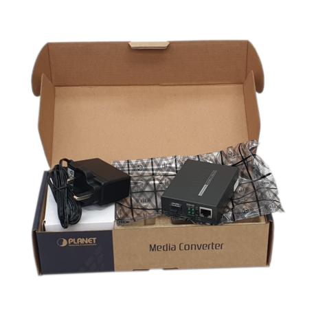Planet GT-805A Gigabit Ethernet Converter (SFP to RJ45) Thumbnail 1