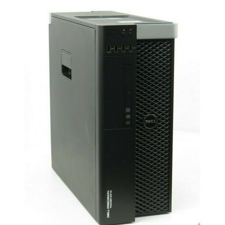 Dell Precision Tower 5810 Xeon E5-1620 V3 @3.50GHz 32GB No HDD Quadro K4000 Thumbnail 1