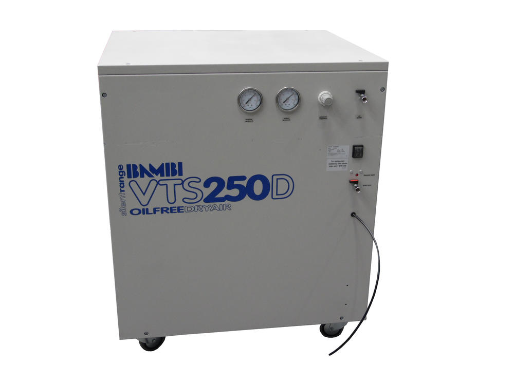 Bambi VTS 250D Ulta Silent Air Compressor | Oil Free | Dry Air