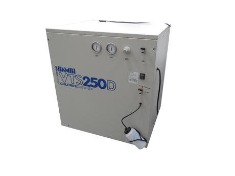 Bambi VTS 250D Ulta Silent Air Compressor | Oil Free | Dry Air With Bottle Thumbnail 1