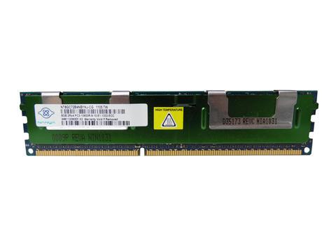 Nanya NT8GC72B4NB1NJ-CG | 8GB RAM | PC3-10600R | Server RAM