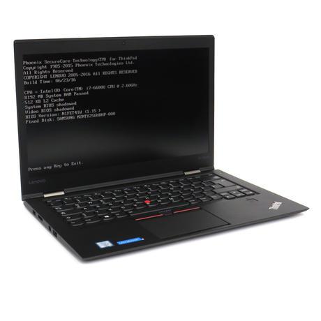 Lenovo X1 Carbon Gen 4 Intel i7-6600U @ 2.6GHz 8GB 250GB Qwertz German KB A-