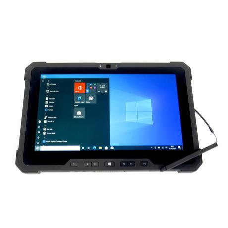 "Dell Latitude 7212 11.6""  Rugged Tablet Intel i5-6300U 8GB 128GB Win10| B+"
