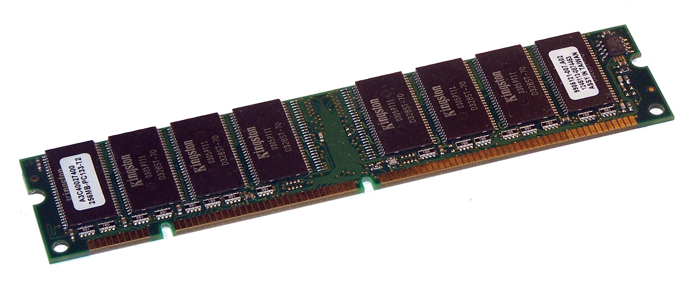 Wincor Nixdorf A3C40027400 (256MB SDRAM PC133U 133MHz DIMM 168-pin) Memory