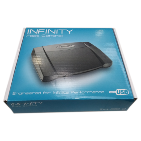Brand New Infinity USB Foot Pedal Controller IN-USB-2 Ver. 14
