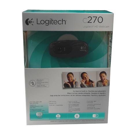 Logitech C270 720p HD 3MP Webcam 960-000582 Thumbnail 1