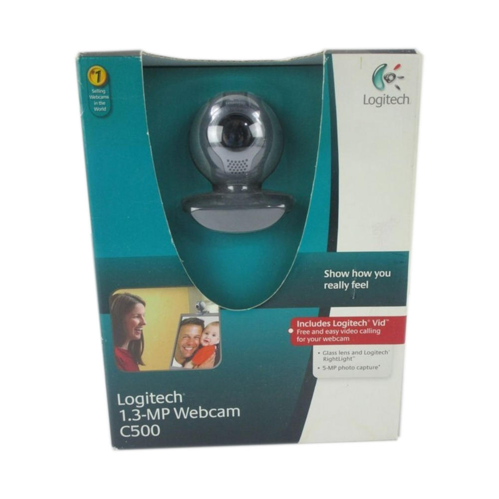 Logitech C500 Webcam 1.3 MP 1280 x 1024 Pixels USB 2.0 Brand New