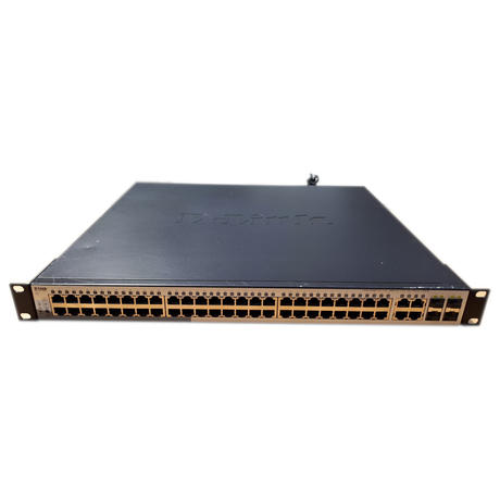 D-Link DGS-1210-52MP 1U PoE Gigabit Managed Network Ethernet Switch With Ears