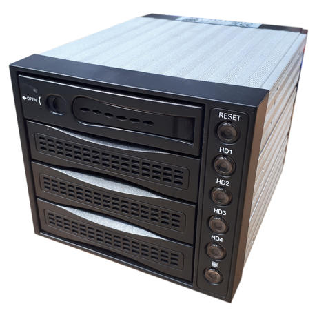 SNT-3141-SATA HotSwap BackPlane Cage Case For Hard Drives Plus SATA Cable Thumbnail 1