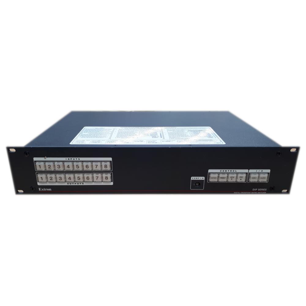 Extron DXP 84 HDMI 8X4 HDMI W/Key Minder Video Matrix Switcher 60-881-01