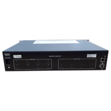Extron DXP 84 HDMI 8X4 HDMI W/Key Minder Video Matrix Switcher 60-881-01 Thumbnail 2