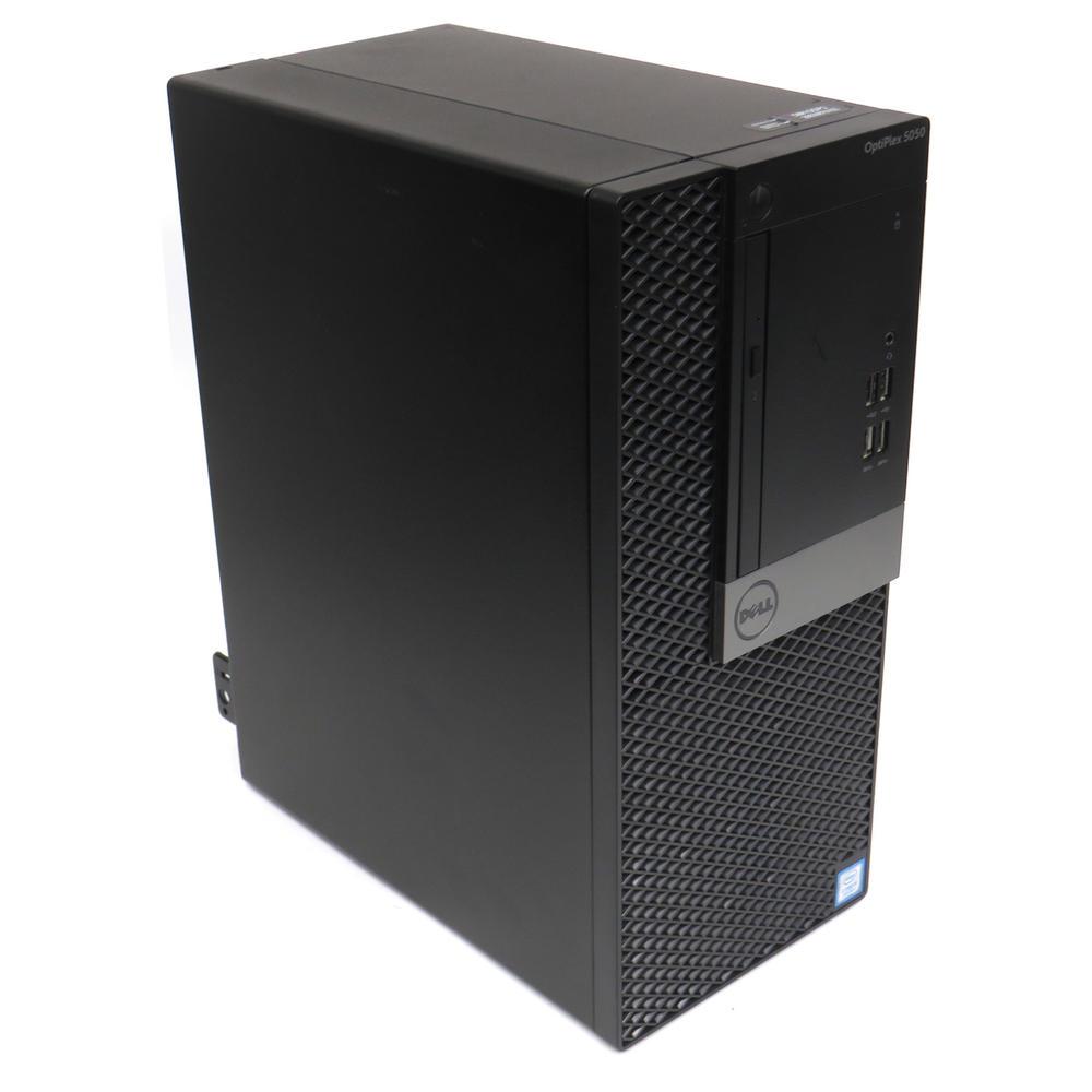 Dell OptiPlex 5050 MiniTower Intel i5-7500@3.40GHz  8GB RAM  256GB HDD No OS  B+