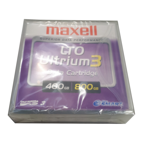 New And Sealed Maxell Ultrium 3 LTO Data Cartridge LTOU3/400 XJ B