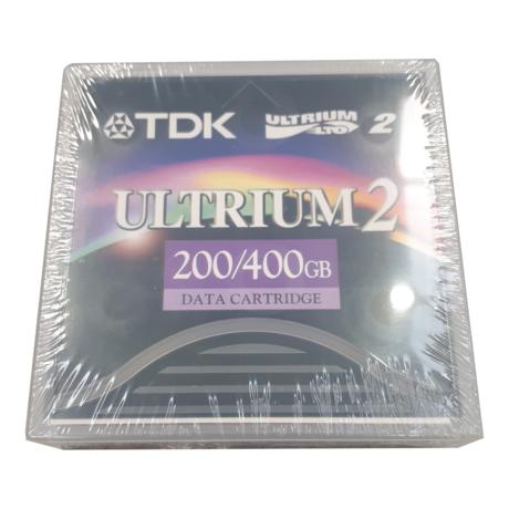 New Sealed TDK D2405-LTO2 LTO 2 Ultrium 2 200/400GB Data Cartridge Tape