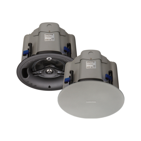 New Crestron SAROS IC6T-W-T-EACH 6.5 in. 2-Way In-Ceiling Speakers