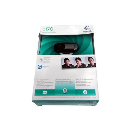 New Logitech C170 5MP Black USB Webcam | Tatty Box