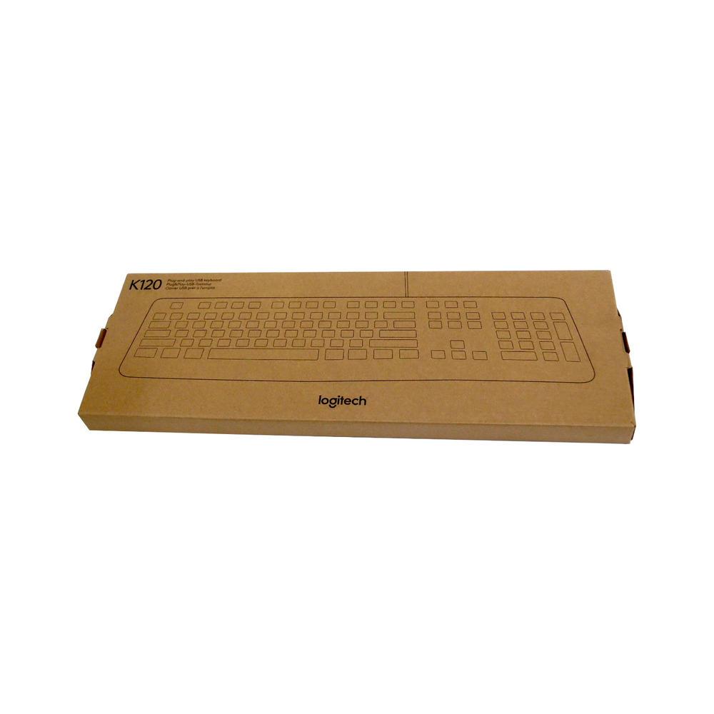 New Logitech K120 USB Keyboard 920-002524