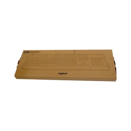 New Logitech K120 USB Keyboard 920-002524 Thumbnail 1