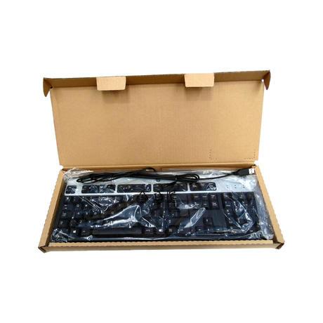 New HP Keyboard Black USB KYBD JB Win8 (UK) 434821-037 Thumbnail 2