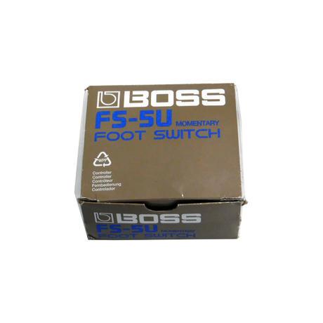 New BOSS FS-5U Momentary Foot Switch Guitar Effect Pedal F/S Unlatching Thumbnail 1
